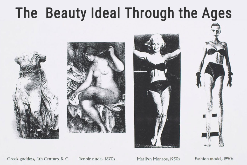 The Beauty Ideal Through the Ages by Julia Ross