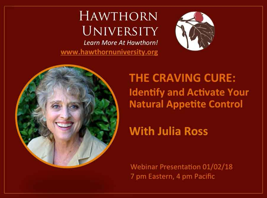 WEBINAR REPLAY: THE CRAVING CURE: Identify and Activate Your Natural Appetite Control