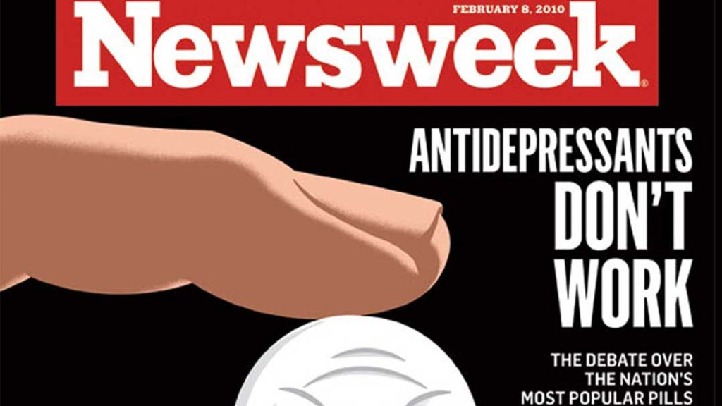 Julia Ross' response to the 2010 Newsweek article why antidepressants are no better than placebos